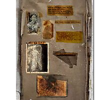 Altered, Annie Chapman Bio Page Photographic Print