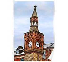 Ormskirk Clock Tower Poster