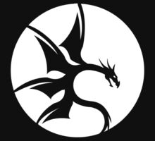 Dragon - Black by SkinnyJoe