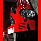 Red Ferrari F40 iPhone Case by Warren Paul Harris