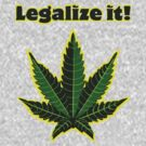 Legalize it! by Ignasi Martín