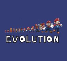 Mario Evolution by SkinnyJoe