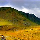 brown crag lake district by Ilapin
