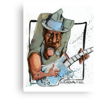 Bluesplaya Canvas Print