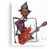 da Blues  Canvas Print