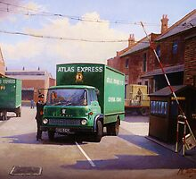 Bedford TK 1962 by Mike Jeffries