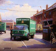 Bedford TK 1962 by Mike Jeffries