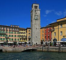 Apponale Tower, Riva del Garda by RedHillDigital