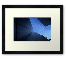 If There's No Windows, They Can't Jump Out. Framed Print