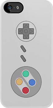 SNES Pad Iphone Case ! by Venum Spotah