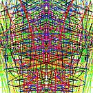 Multicolored - Symmetrical Print by Zane Walker