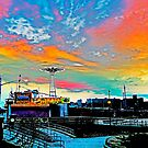 CONEY ISLAND PARACHUTE JUMP AND AMUSEMENT PARK by KENDALL EUTEMEY