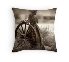 The Journey West Throw Pillow