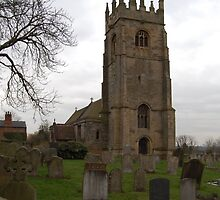 ST PETERS PARISH CHURCH-UPTON-NOTTS by The-Stranger