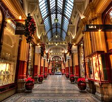 Inside the arcade by collpics