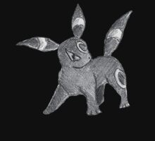 Umbreon - B&W by Derek Wheatley [A] by eevilmurray