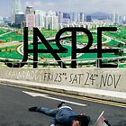 Jape Concert Poster Crawdaddy by M&E  Design