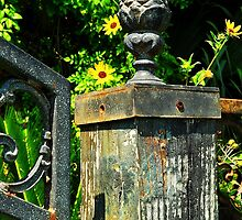 Iron Gate Post by joevoz