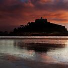 Sunrise at St Michael's Mount by Darren Peet