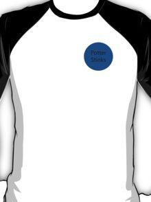 Potter Stinks - Malfoy Badge T-Shirt