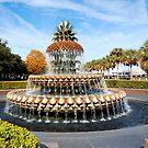 Fall In The Park Along Charleston Bay by Kathy Baccari