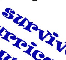 Hurricane Bawbag Sticker
