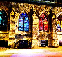 Cathedral Coloring Book by Krakenkracker
