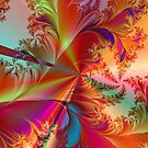 Tropical Feathers Fractal by Susan Sowers