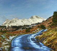 The Road To Blea Tarn. by VoluntaryRanger