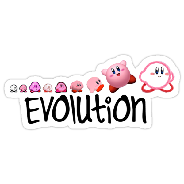 Kirby Evolution by SkinnyJoe