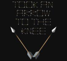 Arrow to the Knee by Blayde