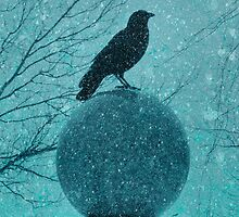 Mystical Blue Snow by gothicolors
