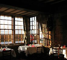 Winter Breakfast - Ye Olde White Hart Hotel by BlueMoonRose