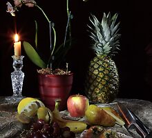 Pineapple Still-life by FrankSchmidt