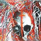 Skull and Cross Spooks by Carol Berliner