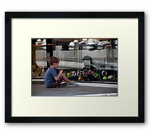 Reflections And Dreams Framed Print