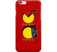 Pac Man Busted! iPhone Case/Skin