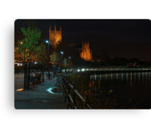 Cleve Walk, Worcester Canvas Print