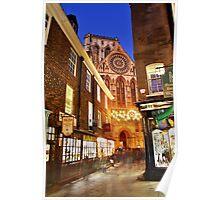 A York Christmas Poster