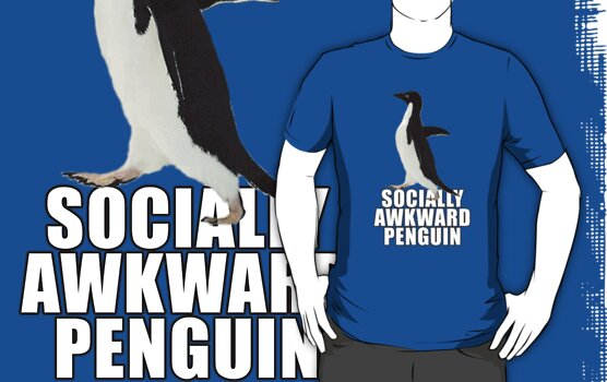 Socially Awkward Penguin [SAP] by waynem80