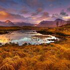 Rannoch Moor, Glencoe, Scotland by Gabor Pozsgai