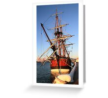 HMS Endeavour Greeting Card