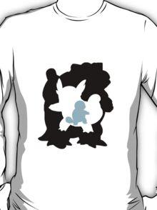 Blastoise evolution chart T-Shirt