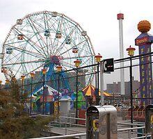 Coney Island NYC by BearheartFoto
