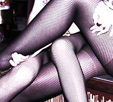 Fishnets and light 2 by SundaySchool