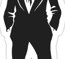SebastiAn - Total (Original Artwork 3) (Black) Sticker