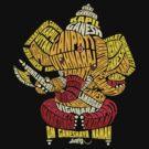 Ganesha Typo by Saksham Amrendra