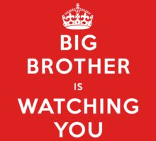 Big Brother Is Watching You (Keep Calm) by jezkemp
