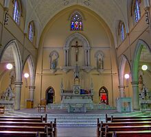 Saint Mary's Church • Ipswich • Australia by William Bullimore