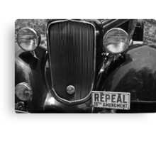 Repeal 18th Amendment Canvas Print